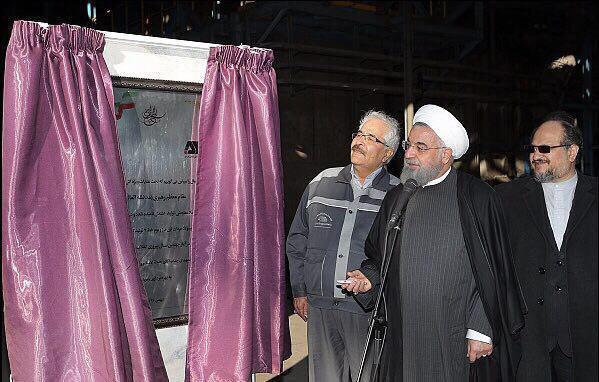 دکتر روحانی: گل گهر از مراکز صنعتی افتخارآمیز کشور است